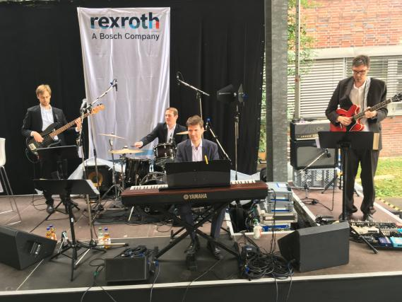 The Wedmusic Project Band bei Bosch Rexroth in Stuttgart
